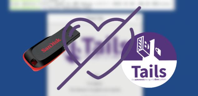 ¿Problemas al instalar Tails en un USB? Windows puede tener la culpa